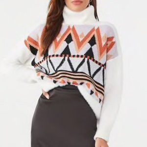 NWT Forever 21 Chunky Oversize Turtleneck Sweater